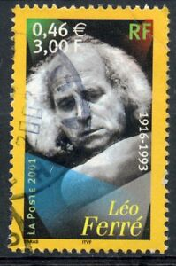 Stamp / Timbre France Oblitere N° 3392 Leo Ferre