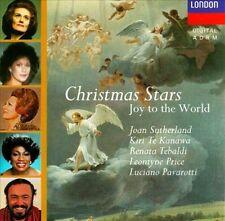 CHRISTMAS STARS Joy to the World (CD 1991) Joan Sutherland Kiri Te Kanawa Price+
