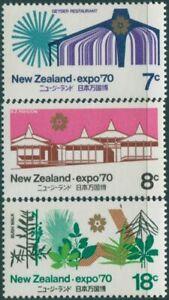 New-Zealand-1970-SG935-937-World-Fair-Osaka-set-MNH
