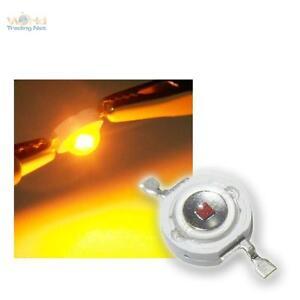 10-Highpower-LEDs-3W-Gelb-3-w-gelbe-High-power-SMD-LED-3-Watt-700mA-yellow-jaun