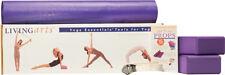 Living Arts Yoga Tool Set by Gaiam Blocks Mat Straps Unisex
