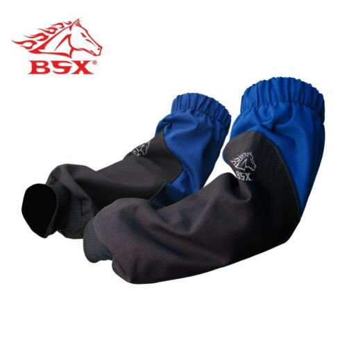 Revco BX9-19S-RB BSX Reinforced Fire Resistant Sleeves Royal Blue//Black New