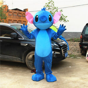 2019 New Lilo Stitch Mascot Costume Anime Party Dress Adults Halloween Outfits Ebay