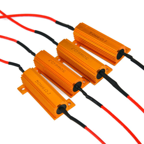 LED Canbus No Error 50W 6ohm Resistors Resistance Fast Flash Load Resistor