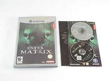 Nintendo Gamecube ENTER THE MATRIX PAL COMPLETA Player's Choice