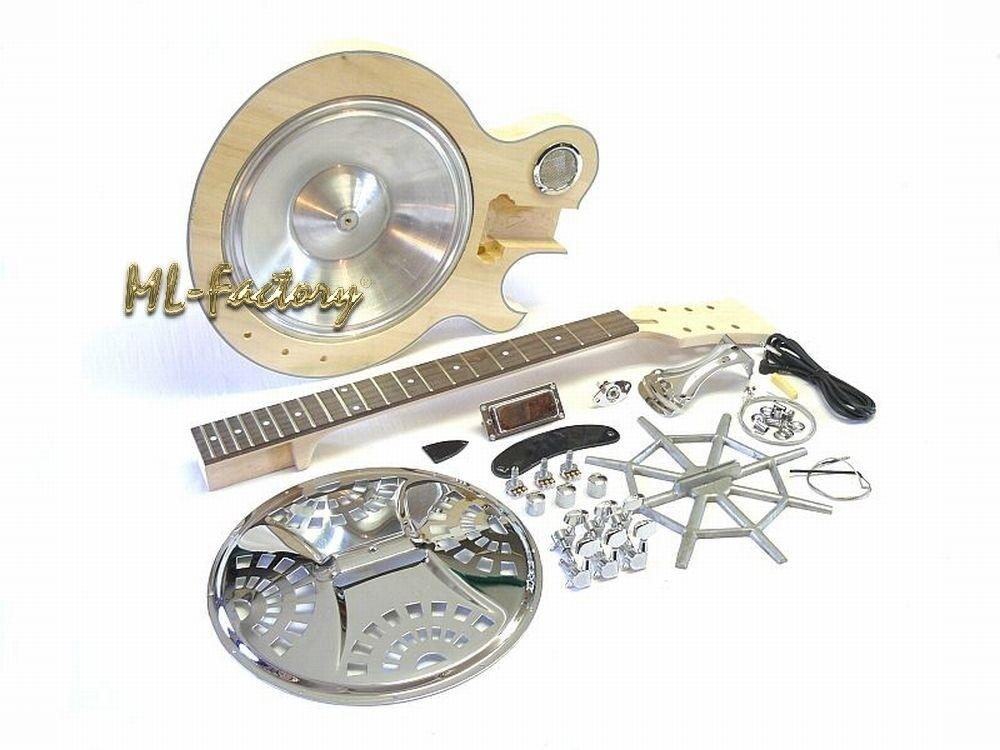 E-Gitarren-Bausatz / Guitar DIY Kit ML-Factory® E-Resonator