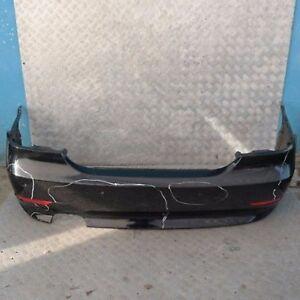 BMW-5-SERIES-E60-Saloon-Rear-Bumper-PDC-Schwarz-2-Black-668