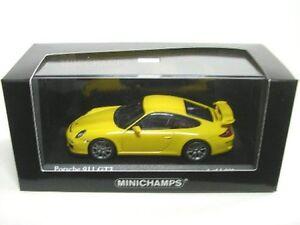 Porsche-911-GT3-jaune-vitesse-2009