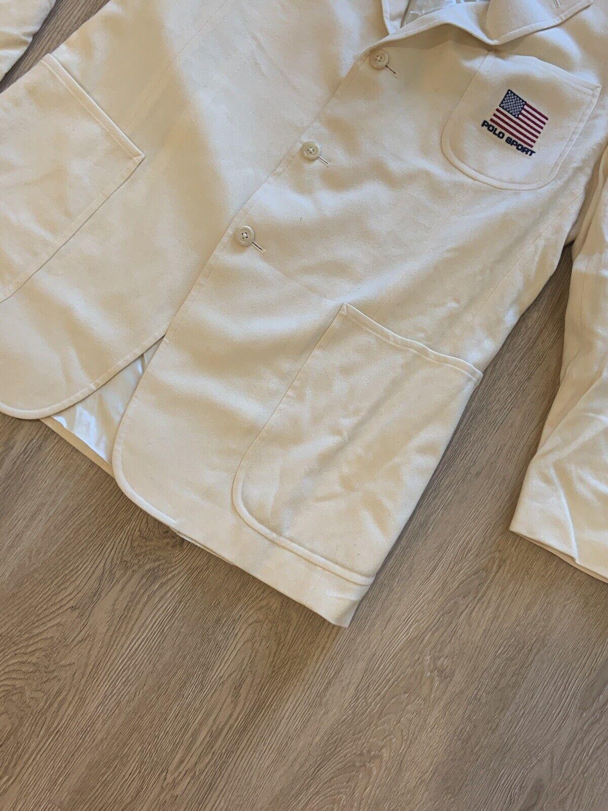 Vintage Polo Sport Sport Jacket - image 4