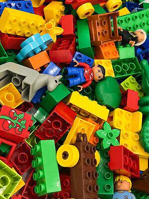 Hänger Lego Duplo SUPER SET 85 Teile Steine Auto Blumen uvm Figur Tiere