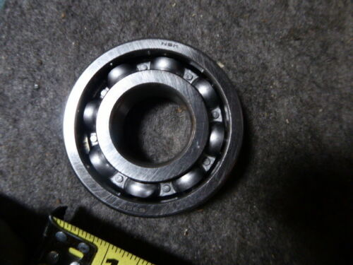 Pressed Steel Cage, Open Single Row NSK 6306 Deep Groove Ball Bearing