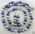 beautiful 10mm Multicolor South Sea Shell Pearl Necklace Bracelets Earrings
