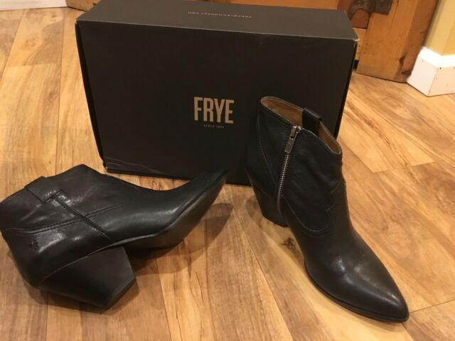 Frye Reina Bootie Womens 3472058-blk