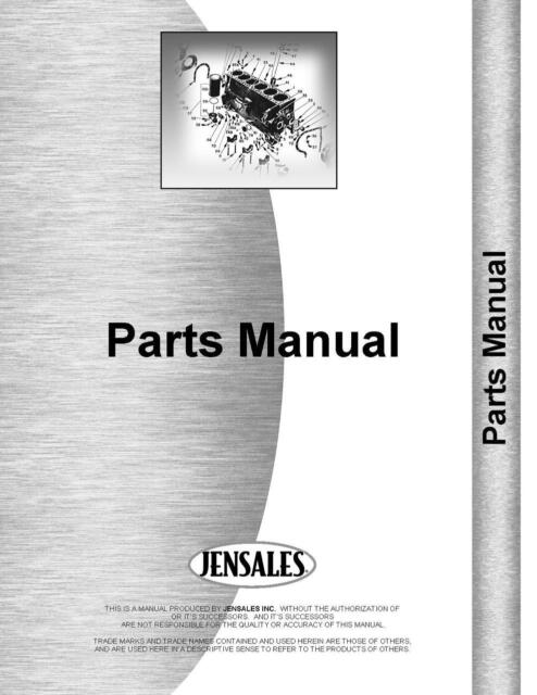 Holland 469 Mower Conditioner Parts Manual For Sale Online Ebay