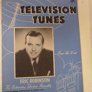 100% Vrai Piano Televsion Tunes, Eric Robinson-afficher Le Titre D'origine