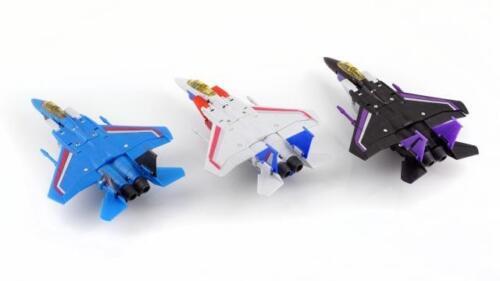 "Mini G1 F15 Starscream Thundercracker Skywarp Thrust Dirge Ramjet  4/"" Figure"