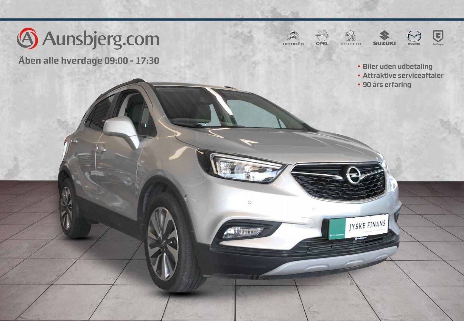 Opel Mokka X 1,6 CDTi 136 Innovation 5d - 207.500 kr.