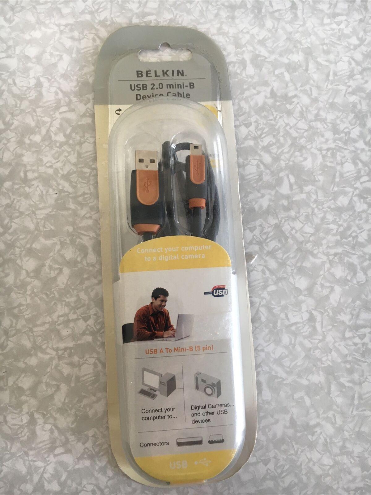 Belkin USB 2.0 Mini-B Device Cable