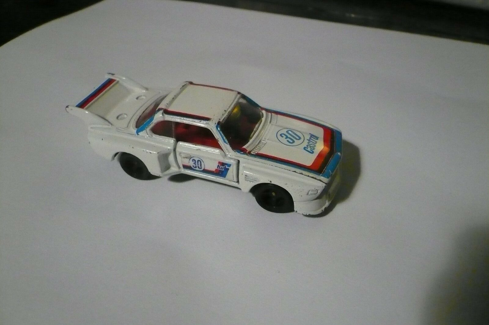 TOMY TOMICA  BMW 3.5CSL No. F30 1 60 1977 Made in Japan Car clean