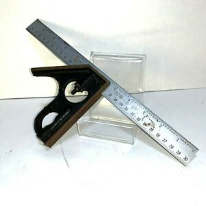 Craftsman-039-s-12-in-Ruler-Combination-Square-Level