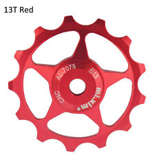 13 Tooth MTB Roulement en céramique Jockey Wheel Pulley Bicycle Derailleur