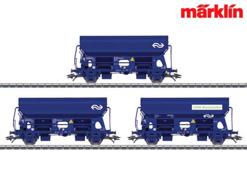 + Märklin 46305 H0 Selbstentladewagen-Set Tds NS 3-teilig NEU /& OVP