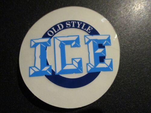 OLD STYLE heilemans CLASSIC clear ICE STICKER decal craft beer brewery brewing