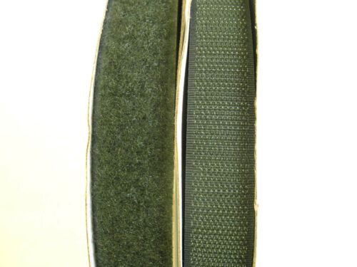 25mt ARMY GREEN RIPFAST™ HOOK AND LOOP 25mm TAPE TOUCH AND CLOSE SEW TAPES