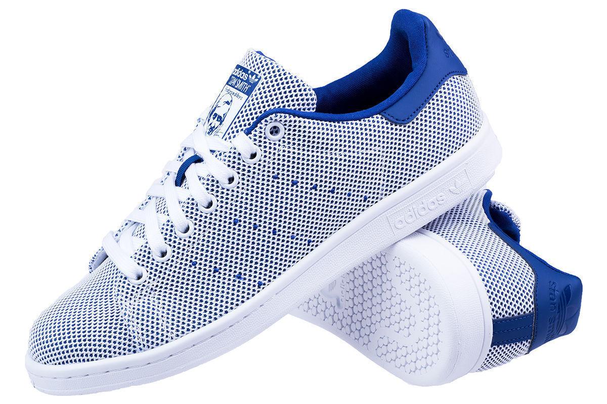 ADIDAS Originals hombre Stan Adicolor S81874 Textil Zapatillas para hombre Originals Smith Azul Blanco 1c828a