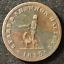 Canada-1815-Half-Penny-Token-Un-Sou-NS-11A1-Breton-884-J-027 thumbnail 1