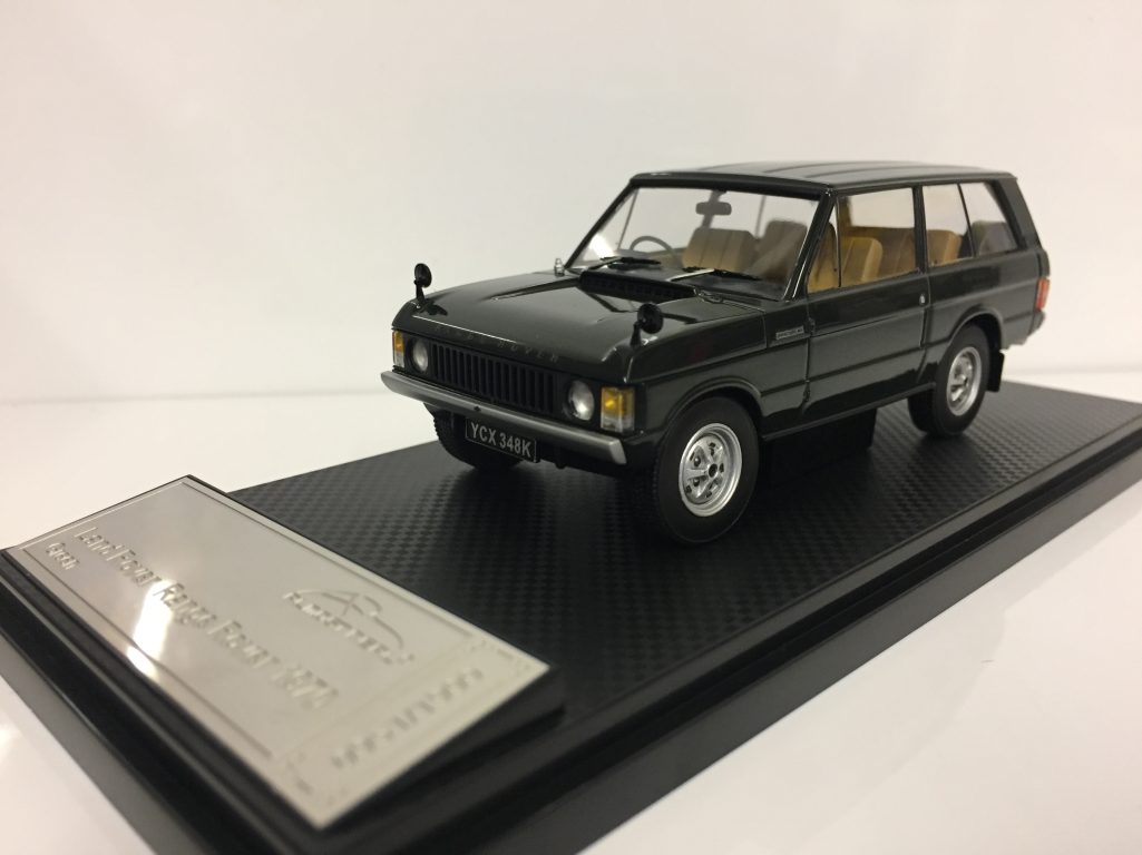Almost real 410104 Land Rover Range Rover 1970 grün 1:43 Maßstab