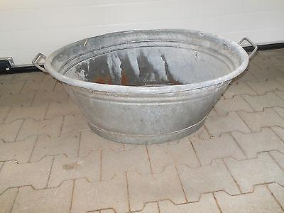 ZuverläSsig Zinkwanne,zink-badewanne,tränke O Pflanz-trog,blumengefäß Komplette Artikelauswahl Pflanz-wanne