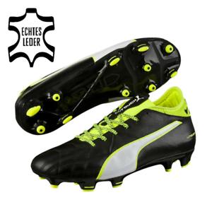 PUMA-Evotouch-3-Lth-Fg-Hommes-Chaussures-de-Football-Firm-Terrain-Cuir-Veritable
