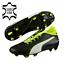 PUMA-Evotouch-3-Lth-Fg-Hommes-Chaussures-de-Football-Firm-Terrain-Cuir-Veritable miniature 1