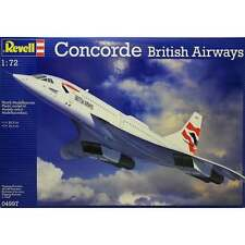Revell 1:72 Scale British Airways Concorde Model Aircraft Kit - 04997