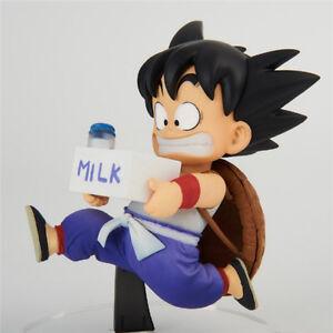 Banpresto-Dragonball-BWFC2-Kids-Goku-With-Milk-PVC-Figure-New