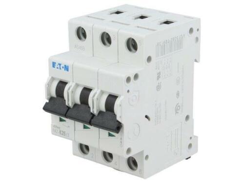 FAZ-K25//3 Überstromschalter 230//400VAC lNenn 25A Anz.Pole 3 DIN 15kA