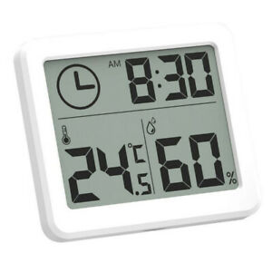 Weather-Station-Indoor-Thermometer-Hygrometer-Digital-LCD-C-F-Meter-Alarm-Clock