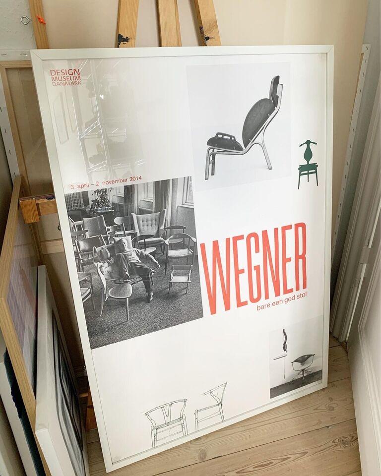 Plakat, Designmuseum Danmark , motiv: Wegner