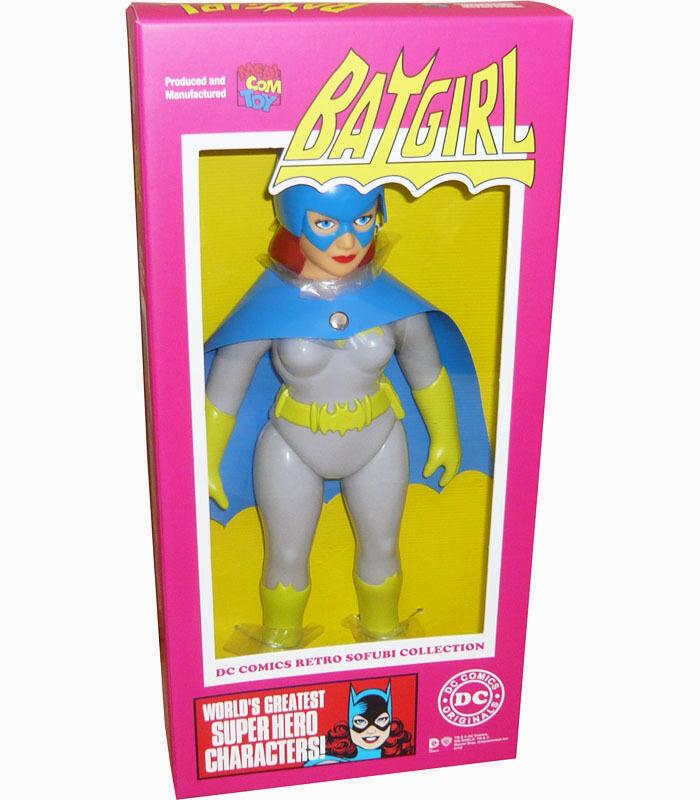 MEDICOM TOY_DC Comics Retro Sofubi Collection BATGIRL 10   Vinyl figure_1 of 300