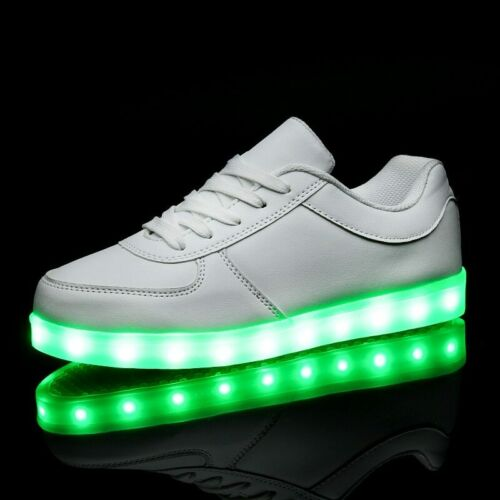 Tenis de Luces para Niños y Niñas Zapatillas para Jovenes Zapatos con Luz LED