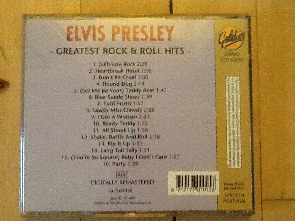 Elvis Presley: Greatest Rock & Roll Hits, rock
