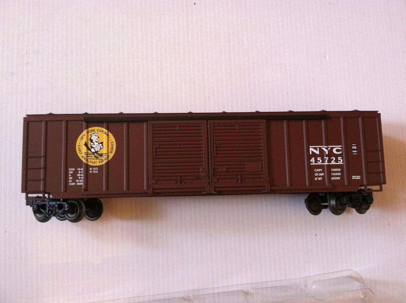 Lionel 6-17263, Nuovo York Central Double Door Boxcar, Nuovo Mint In Box