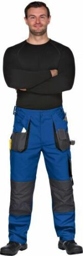 Triuso trabajo pantalones azul federal pantalones pantalones cargo talla 42-66 brevemente Lang-tamaño profesión pantalones
