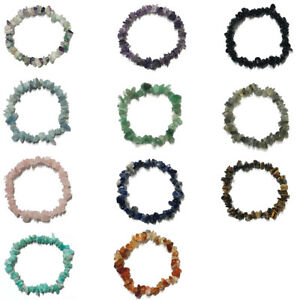 Natural Gemstone Crystal Healing Bracelet (for Anxiety, Love & Success)