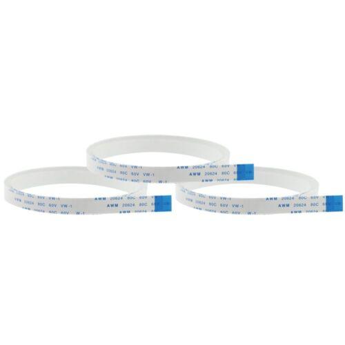 3x Ersatz-Flexkabel, Flachkabel für Display/Kamera 50, 100, 150 cm
