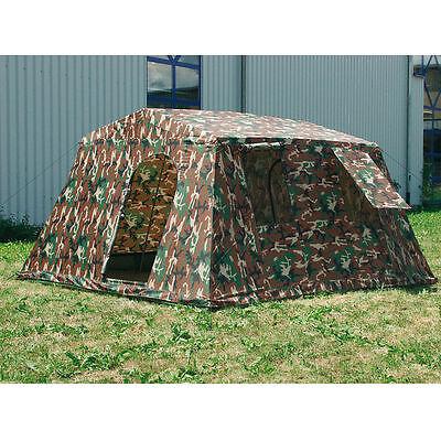 Mannschaftszelt Gruppen Zelt Outdoor Camping Army Woodland Camouflage Tent