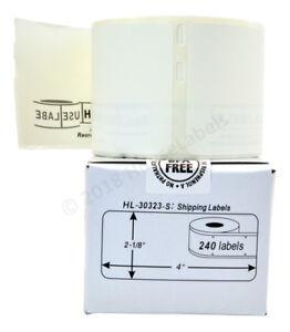 28-Rolls-28-000-Labels-POLYPROPYLENE-White-Weatherproof-Dymo-LabelWriters-30323