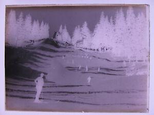 Feldberg Schanze  Schwarzwald  um 1900  historisches Glas - Negativ 3.