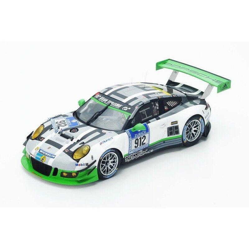 Spark 2016 Porsche 911 GT3 R H N 65533;rough655333;erburging 18SG015 1 18 LE 300pcs New
